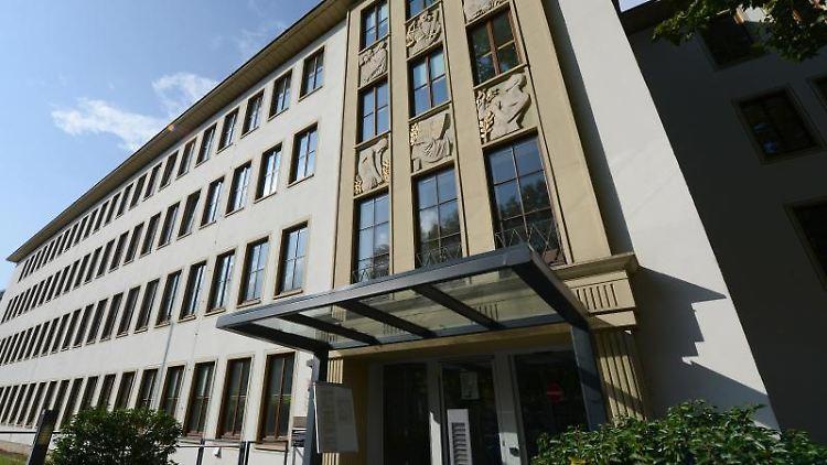 Das Gebäude des Landgerichts in dem der