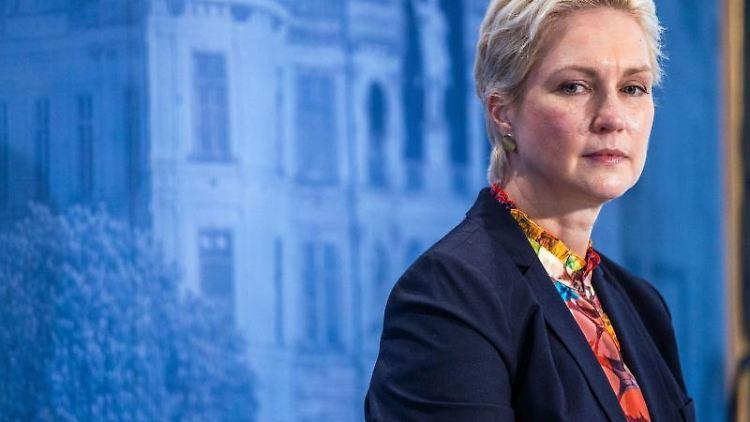 Manuela Schwesig (SPD), die Ministerpräsidentin von Mecklenburg-Vorpommern. Foto: Jens Büttner/dpa/Archivbild