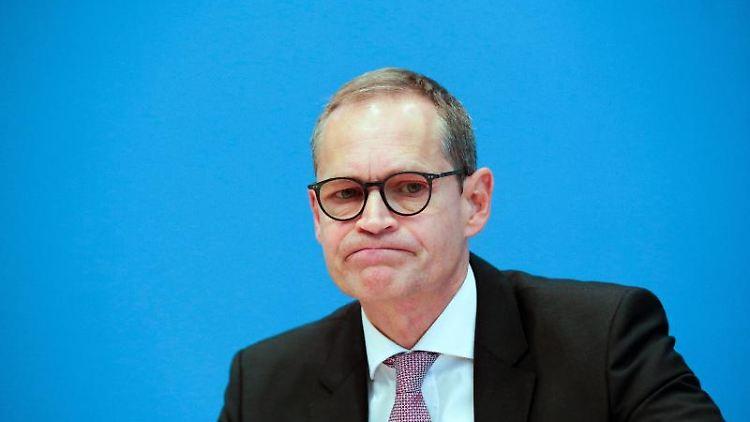 Michael Müller (SPD), Regierender Bürgermeister von Berlin. Foto: Markus Schreiber/AP POOL/dpa/Archivbild