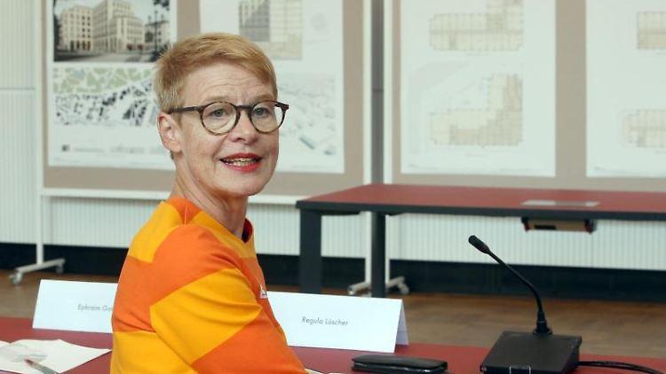 Regula Lüscher, Senatsbaudirektorin. Foto: Wolfgang Kumm/dpa/Archivbild