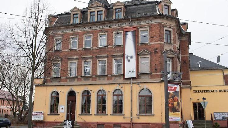 Das Theaterhaus Rudi. Foto: Sebastian Kahnert/dpa-Zentralbild/ZB