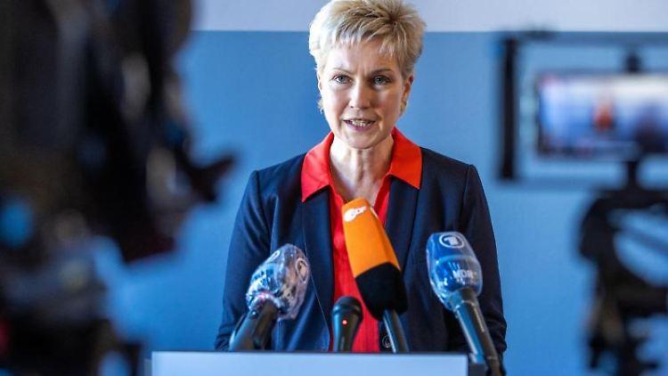 Manuela Schwesig, die Ministerpräsidentin von Mecklenburg-Vorpommern. Foto: Jens Büttner/dpa-Zentralbild/dpa/Archivbild