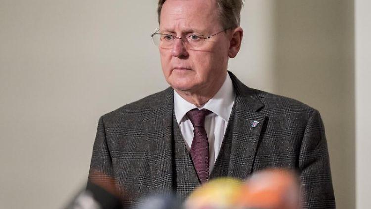 Bodo Ramelow, der Ministerpräsident von Thüringen. Foto: Jens-Ulrich Koch/dpa-Zentralbild/dpa