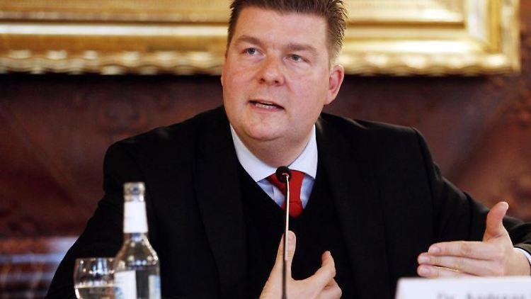 Andreas Dressel (SPD), Finanzsenator. Foto: Markus Scholz/dpa/Archivbild