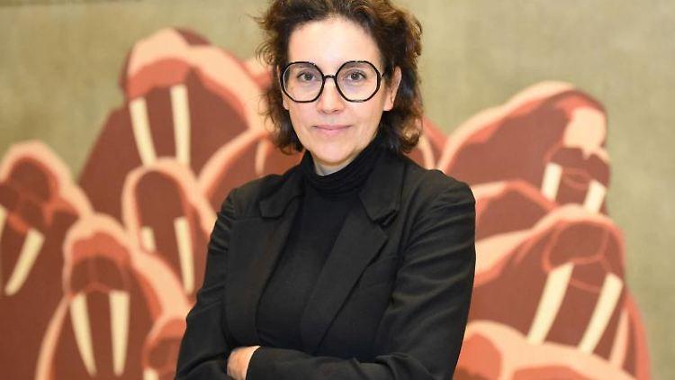 Kunst- und Kulturwissenschaftlerin Brigitte Franzen, neue Direktorin des Senckenberg-Museums. Foto: Tränkner/Senckenberg Museum Frankfurt/dpa/Archivbild