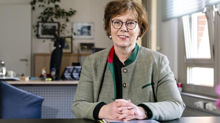 Sabine Sütterlin-Waack (CDU), Ministerin für Inneres, ländliche Räume und Integration in Schleswig-Holstein. Foto: Frank Molter/dpa/Archivbild