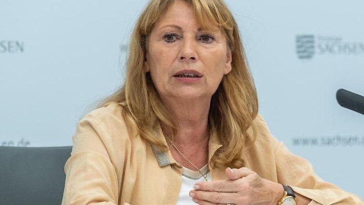 Petra Köpping (SPD), Sozialministerin von Sachsen. Foto: Robert Michael/dpa-Zentralbild/dpa/Archiv