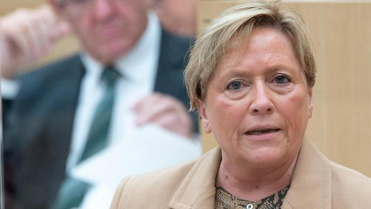 Susanne Eisenmann (CDU), Ministerin für Kultus, Jugend und Sport von Baden-Württemberg. Foto: Sebastian Gollnow/dpa/archiv