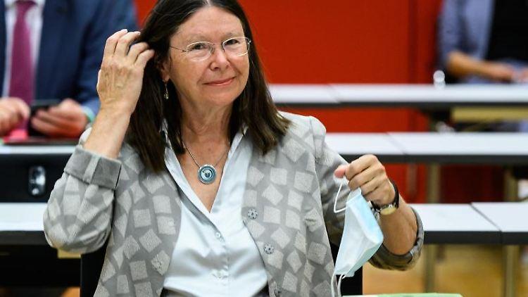 Ulrike Höfken (Bündnis 90/Die Grünen), Umweltministerin von Rheinland-Pfalz. Foto: Andreas Arnold/dpa/Archivbild