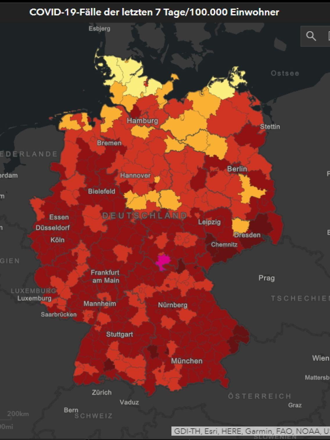 Coronavirus Liveticker 23 39 Landrat Von Hildburghausen Nach Drohung Unter Polizeischutz N Tv De