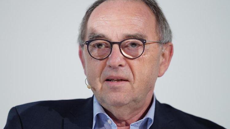 Norbert Walter-Borjans (SPD)spricht. Foto: Kay Nietfeld/dpa/Archivbild