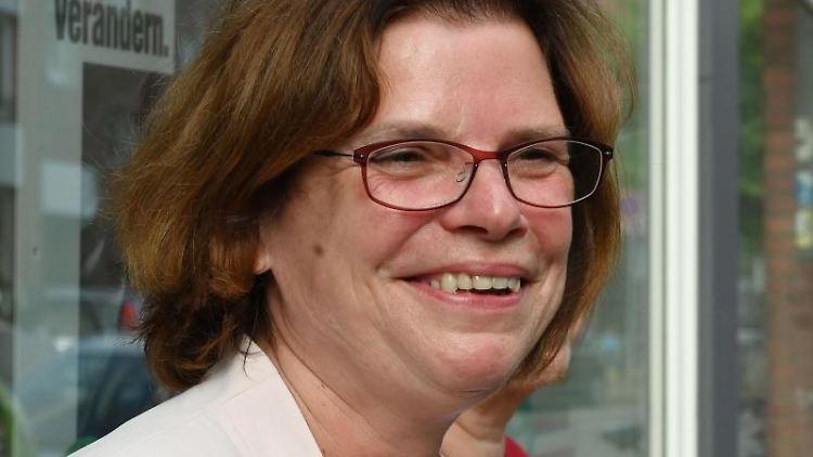 Kristina Vogt (Die Linke), Senatorin für Wirtschaft in der Bremer Bürgerschaft. Foto: Carmen Jaspersen/dpa/Archivbild