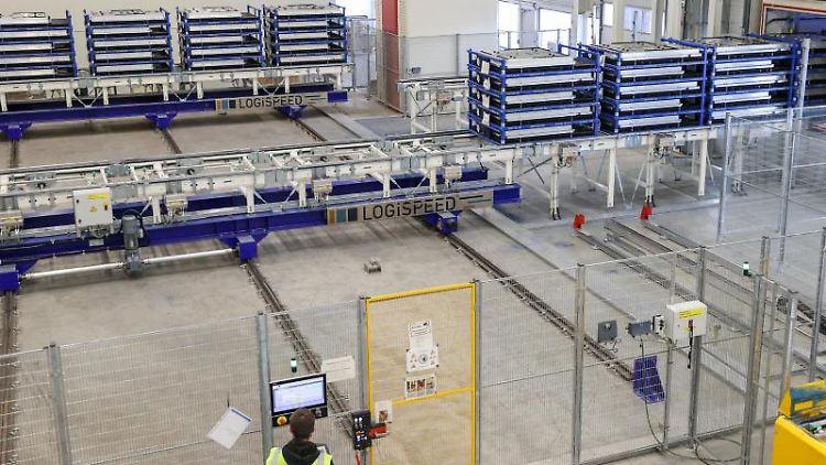 Anlagen im VW-Werk in Zwickau. Foto: Jan Woitas/dpa-Zentralbild/dpa
