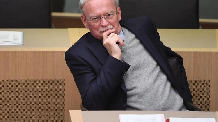 Der Landtagsabgeordnete Klaus-Günther Voigtmann (AfD). Foto: Marijan Murat/dpa/Archiv