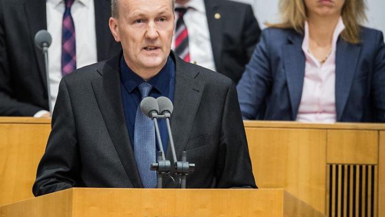 Der Politiker Timo Böhme. Foto: Andreas Arnold/dpa/Archivbild