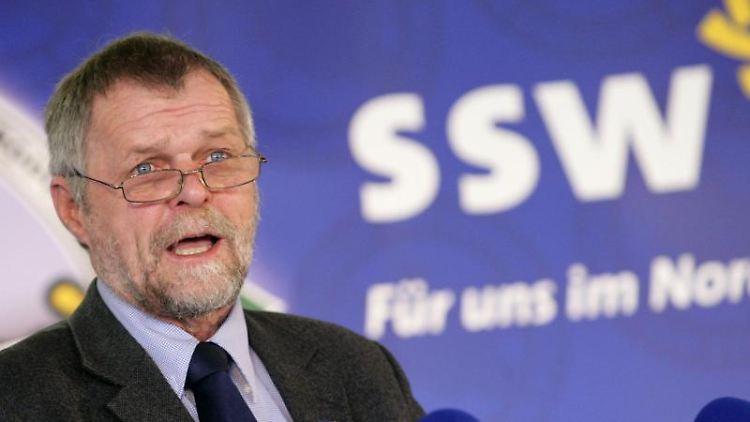 Der Parteivorsitzende des Südschleswigschen Wählerverbandes (SSW), Flemming Meyer. Foto: Daniel Bockwoldt/dpa/Archivbild