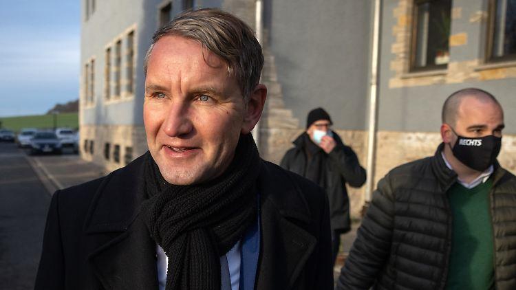 Offenbar gibt es selbst in den eigenen Reihen Verwirrung über den Vornamen des AfD-Politikers Björn Höcke.