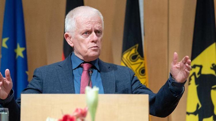 Fritz Kuhn (Grüne), scheidender Oberbürgermeister von Stuttgart. Foto: Sebastian Gollnow/dpa