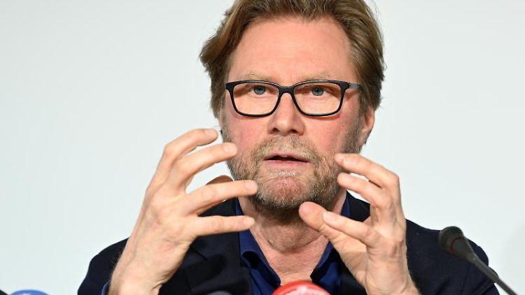 Dirk Adams (Bündnis 90/Die Grünen), Migrationsminister von Thüringen. Foto: Martin Schutt/dpa-Zentralbild/dpa/Archivbild