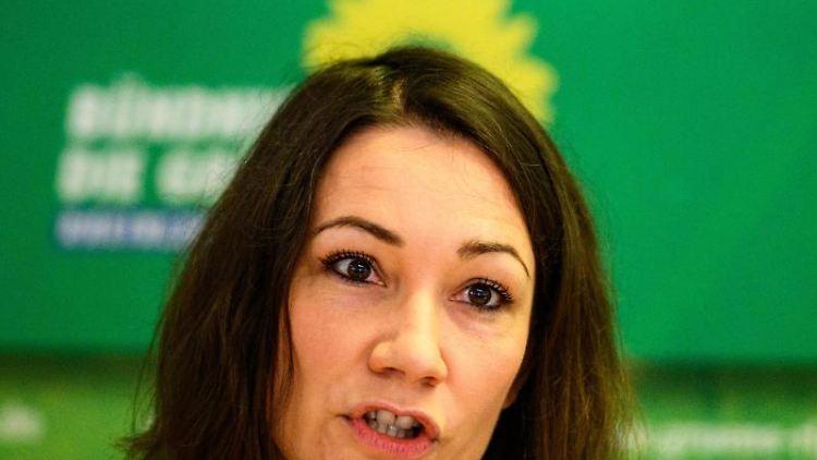 Grünen-Spitzenkandidatin in Rheinland-Pfalz, Anne Spiegel. Foto: Andreas Arnold/dpa