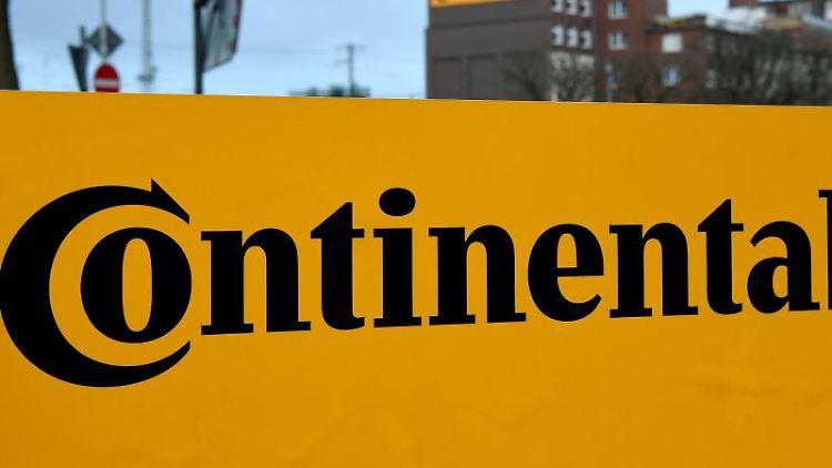 Das Logo der Continental AG. Foto: Holger Hollemann/dpa