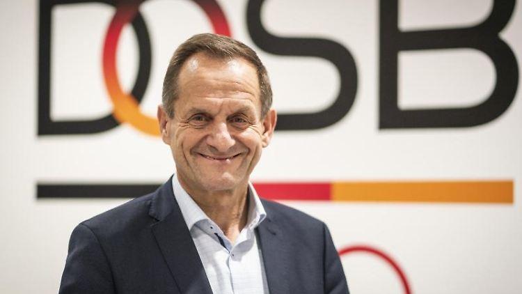 Alfons Hörmann, Präsident des Deutschen Olympischen Sportbundes (DOSB). Foto: Frank Rumpenhorst/dpa/Archivbild