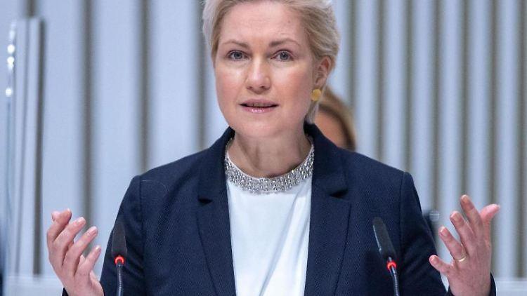 Manuela Schwesig, die Ministerpräsidentin von Mecklenburg-Vorpommern. Foto: Jens Büttner/dpa-Zentralbild/dpa