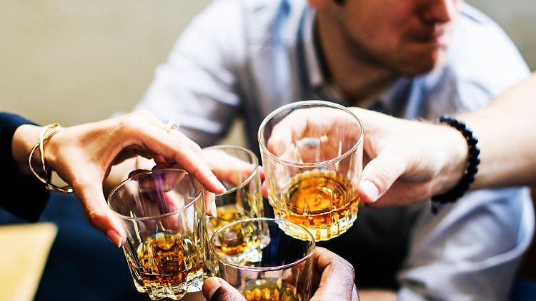 Über die Feiertage sind Whisky und andere Spirituosen gefragt.