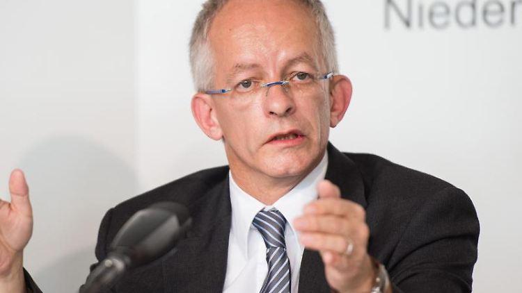 Staatskanzleichef Jörg Mielke spricht. Foto: picture alliance / Silas Stein/dpa/Archivbild