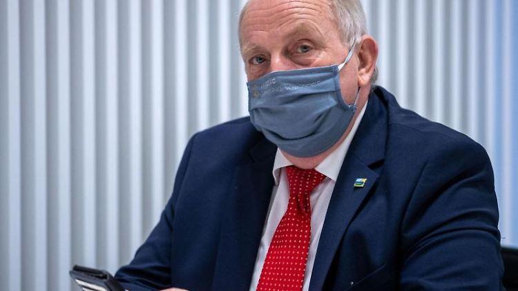 Till Backhaus (SPD), der Landwirtschaftsminister von Mecklenburg-Vorpommern. Foto: Jens Büttner/dpa-Zentralbild/ZB/Archivbild