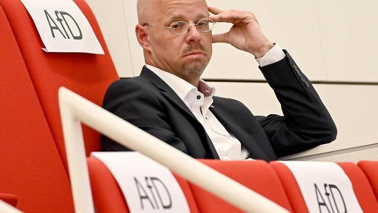 Andreas Kalbitz. Foto: Britta Pedersen/dpa-Zentralbild/ZB/Archivbild