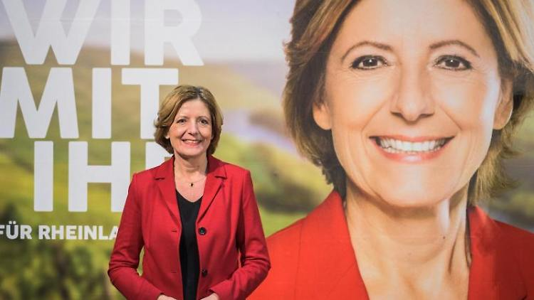 Malu Dreyer (SPD), Spitzenkandidatin zur Landtagswahl ihre Partei. Foto: Andreas Arnold/dpa