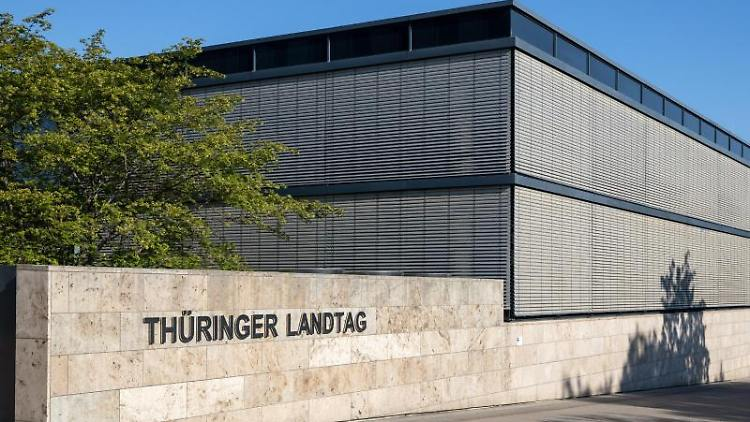 Der Thüringer Landtag. Foto: Michael Reichel/dpa-Zentralbild/dpa/Archiv