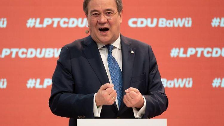 Armin Laschet, CDU-Bundesvorsitzender und Ministerpräsident von NRW. Foto: Marijan Murat/dpa-Pool/dpa/Archiv