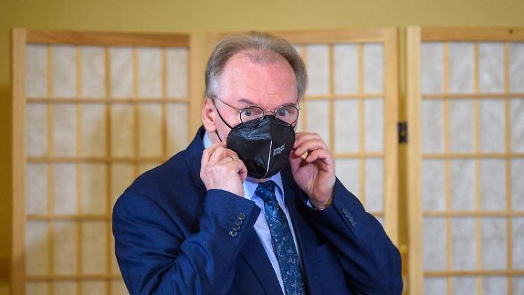 Reiner Haseloff (CDU) bei einer Veranstaltung. Foto: Klaus-Dietmar Gabbert/dpa-Zentralbild/ZB/Archivbild