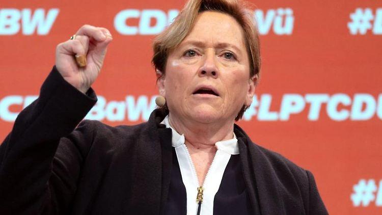 Susanne Eisenmann, CDU-Spitzenkandidatin in Baden-Württemberg. Foto: Marijan Murat/dpa-Pool/dpa