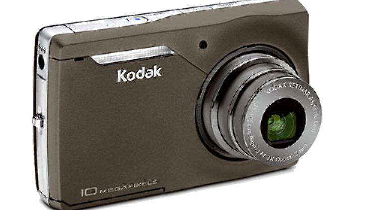 Ganz andere Prioritäten setzt die Kodak Easyshare M1033. Sie wuchert mit 10 Megapixeln und der Möglichkeit, hochauflösende Videos im 16:9-Format aufzunehmen, hat dafür aber nur einen optischen 3-fach-Zoom.