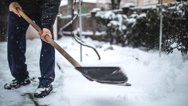 Schnee satt: Am Wochenende soll es im Norden Deutschlands extrem kalt werden.
