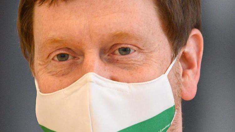 Michael Kretschmer (CDU), Ministerpräsident von Sachsen. Foto: Robert Michael/dpa-Zentralbild/dpa