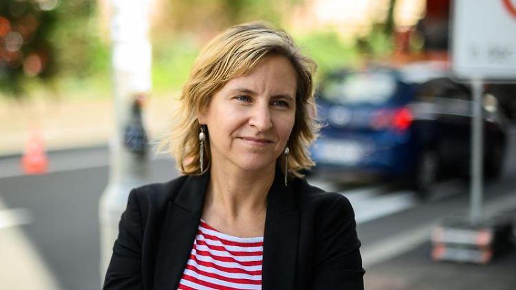 Katrin Eder (Bündnis90/ Die Grünen), Umwelt- und Verkehrsdezernentin in Mainz. Foto: Andreas Arnold/dpa
