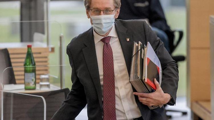 Daniel Günther (CDU), Ministerpräsident von Schleswig-Holstein. Foto: Axel Heimken/dpa/Archiv