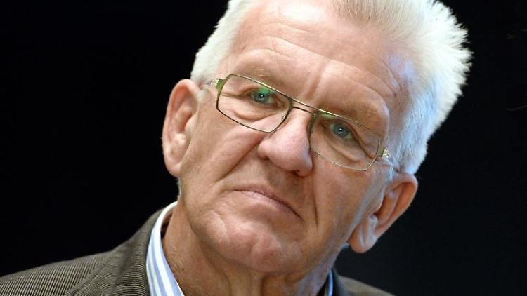 Der baden-württembergische Ministerpräsident Winfried Kretschmann. Foto: Bernd Weissbrod/dpa/Archivbild