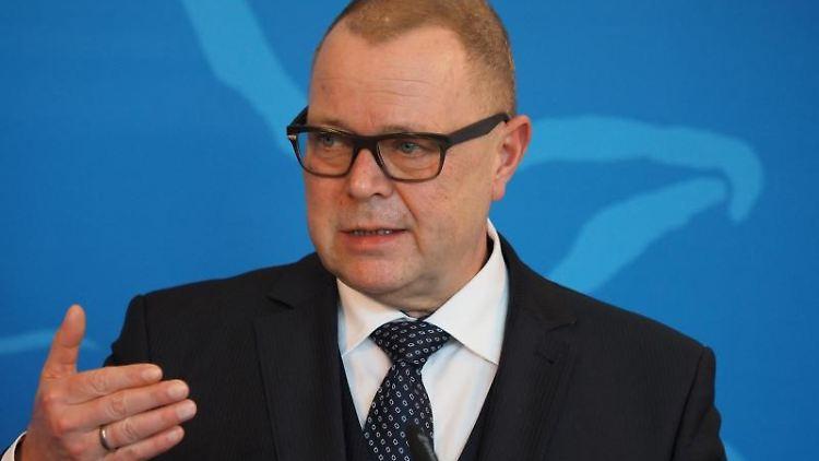 Michael Stübgen (CDU), Minister des Innern und für Kommunales. Foto: Soeren Stache/dpa-Zentralbild/dpa/Archivbild