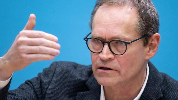 Michael Müller, der Regierende Bürgermeister von Berlin. Foto: Bernd von Jutrczenka/dpa