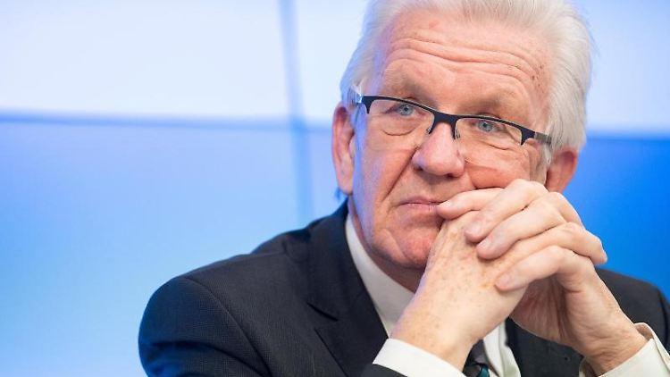 Winfried Kretschmann, der Ministerpräsident von Baden-Württemberg. Foto: Sebastian Gollnow/dpa
