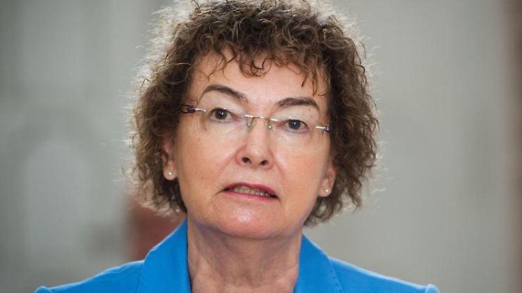 Margit Haupt-Koopmann, Chefin der Regionaldirektion Nord der Bundesagentur für Arbeit. Foto: Stefan Sauer/dpa-Zentralbild/dpa/Archivbild