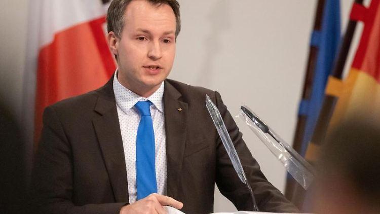 Andreas Bühl, Parlamentarischer Geschäftsführer der CDU-Fraktion. Foto: Michael Reichel/dpa/Archivbild