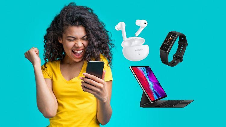 Unter den besten Technik-Deals der Woche sind Huawei- und Apple-Angebote.