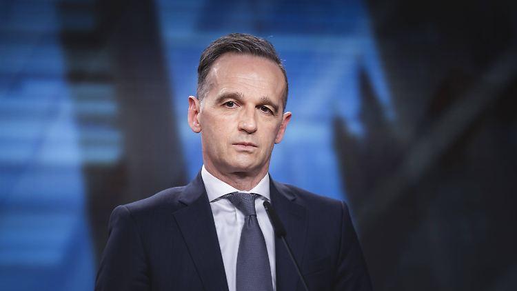 Bundesaussenminister Heiko Maas, SPD
