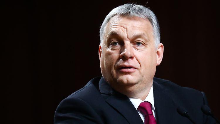 Der rechtsnationale Orban steht wegen seines Plans einer